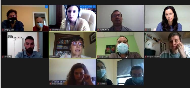 Cuarta reunión del proyecto Fronteira durante 2020