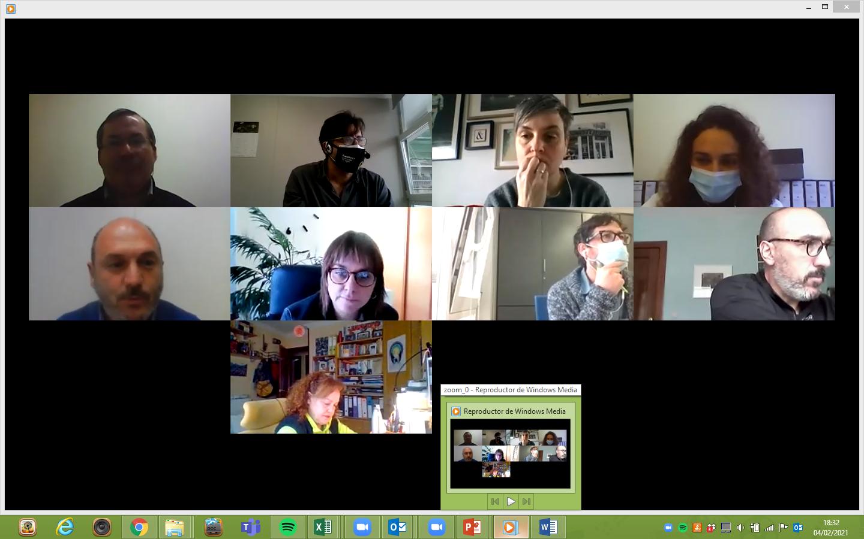 Reunión Grupo 4 Fronteira